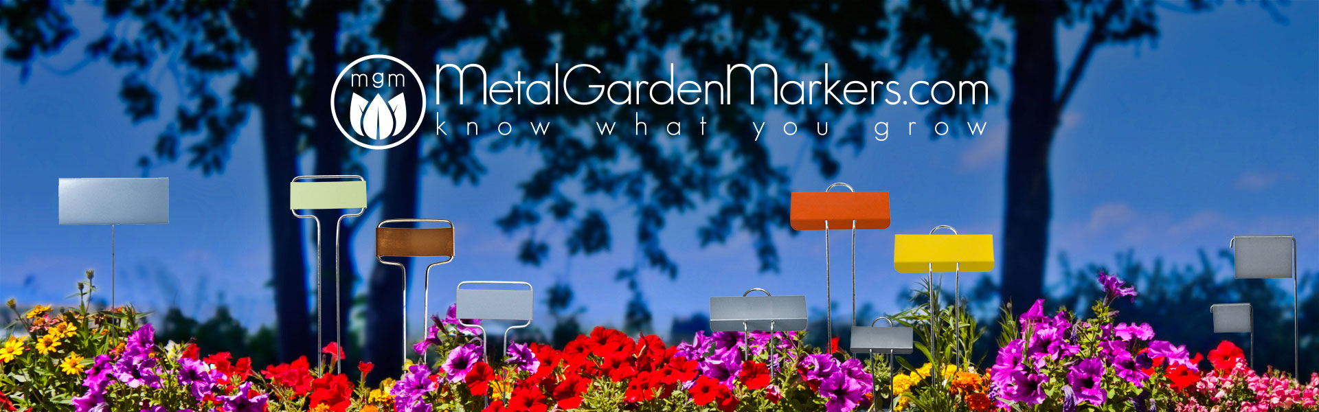 Metal Garden Markers - Know what you grow